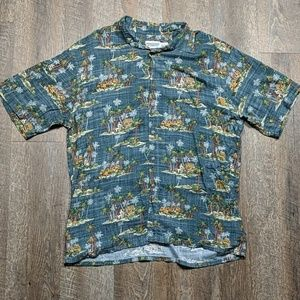 Hawaiian Vacation Button Up Shirt Windham Pointe